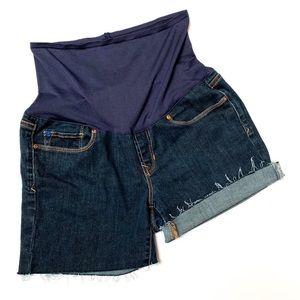 Gap Maternity cutoff shorts